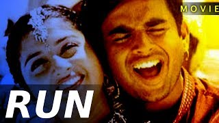RUN | DUBBED MOVIE | SUPER HIT ROMANTIC FULL MOVIE | MEERA JASMNE | MADHAVAN