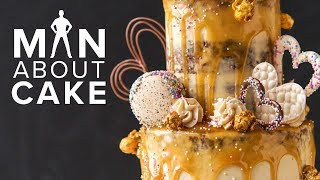Caramel Drip DIY WEDDING CAKE | Man About Cake 2018 Wedding Season with Joshua John Russell