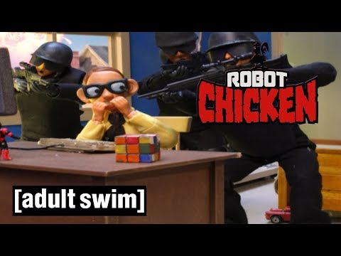 3 Classic Nerds Robot Chicken Adult Swim
