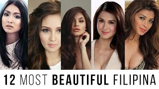 12 Most Beautiful Filipina
