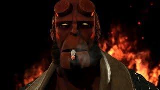 Injustice 2 - Arraia Negra, Raiden e Hellboy - Fighter Pack 2 DLC - Teaser Trailer - LEGENDADO PT-BR