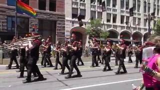 San Francisco Pride Parade 2016 San Francisco Lesbian/Gay Freedom Band