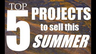 Top 5 Ways to Make Money as a Blacksmith This Summer // Blacksmith Projects to Sell