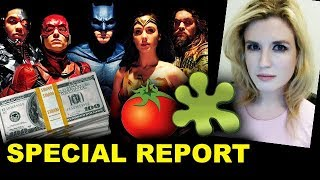 Justice League Box Office - Opening Weekend & Rotten Tomatoes Reviews