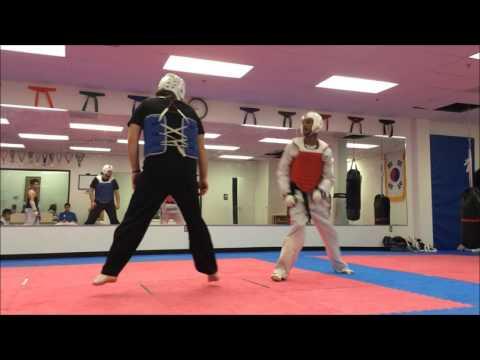 2015 HMA Olympic Taekwondo Sparring October Practice