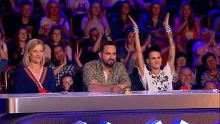 Zobacz mistrzowski pokaz z piłką do hitu Justina Biebera [Mam Talent!]