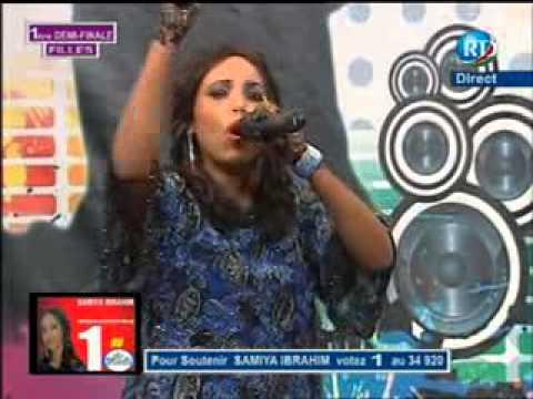 Samia Ibrahim ouvre le Bal dans ce demi finale le 02 01 2014