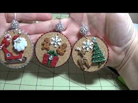 DIY Gorgeous Rustic Story Ornaments For Your Christmas Tree