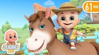 Baa Baa Black Sheep | Nursery Rhymes Compilation from Jugnu Kids