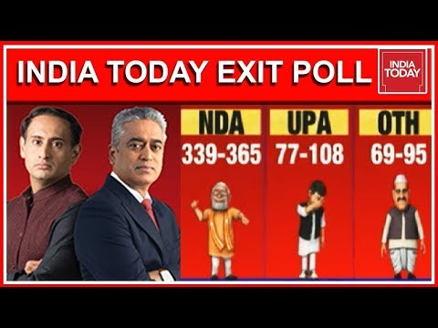 Exclusive India Today Exit Poll 2019 India s Biggest Lok Sabha Exit Poll Results Full Video
