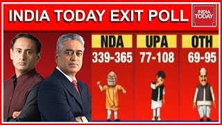 Exclusive : India Today Exit Poll 2019 | India's Biggest Lok Sabha Exit Poll Results  | Full Video