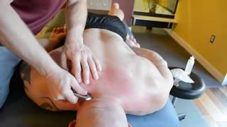 Extreme Bodybuilder Massage   Opening Up