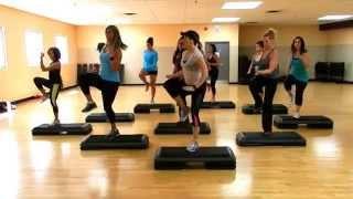 Step Cardio Class Choreography By Liana Santarossa April 2014