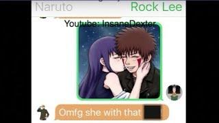 Rock Lee Text Naruto About Hinata Having a Affair | Naruto Caught Hinata Cheating on Him