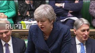 UK: Tory MP asks May to
