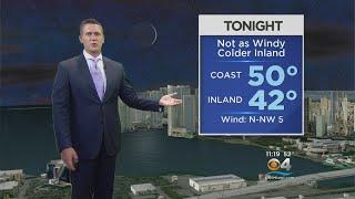 CBSMiami.com Weather @ Your Desk 1-18-18 11PM