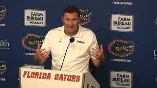 Gators head coach Dan Mullen discusses win over Tennessee