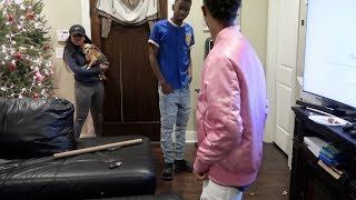 WEARING YOUR CLOTHES PRANK ON FUNNYMIKE!!