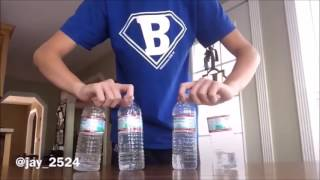 Water Bottle flip (I AM THE ONE)