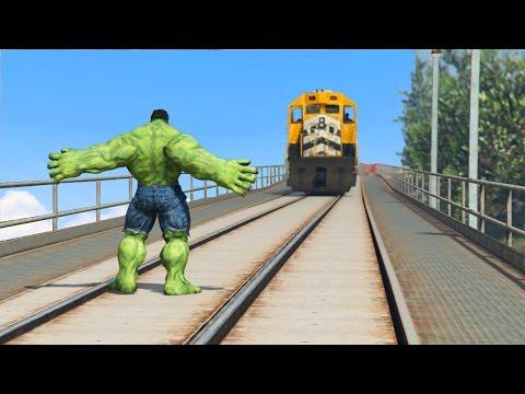 Xxx Mp4 CAN HULK STOP THE TRAIN IN GTA 5 3gp Sex