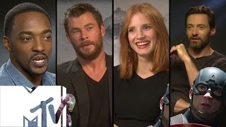 Captain America: Civil War - 15 Celebs Choose TEAM IRON MAN or TEAM CAP! | MTV