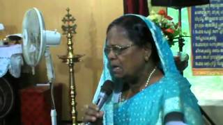 Healing, Gracamma, Kulathoor,  Testimony 20131023