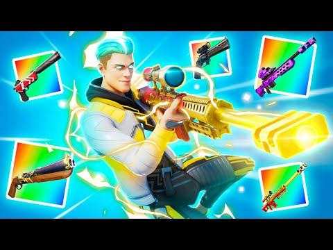 Using Every EXOTIC Weapon in Fortnite
