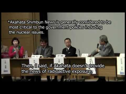 Issues of Radioactive Exposure are Considered Taboo on Japanese Media