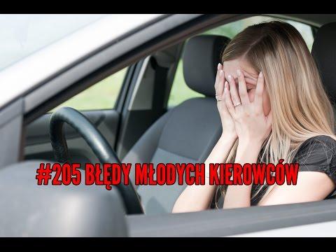Błędy młodych kierowców 205 MOTO DORADCA