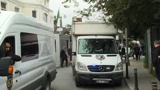 Turkish police search Saudi consul