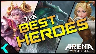 The Best Heroes in Arena of Valor | Every Roles BEST HERO!