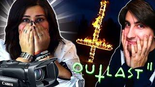 LA MIA RAGAZZA IN SHOCK! CADE LA VIDEOCAMERA!! OUTLAST 2 GAMEPLAY ITA By GiosephTheGamer