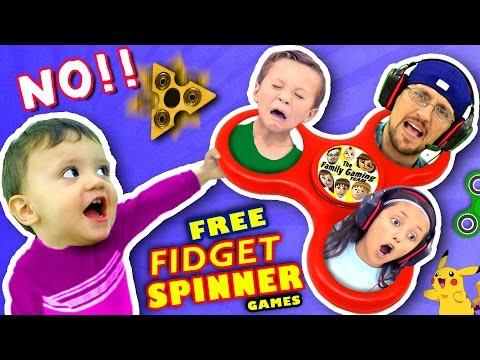 Xxx Mp4 🌟 FIDGET SPINNER TOYS🌟 SAY NO 0 Free Hand Spinner Games W FGTEEV Dad Kids Top 5 IPad Apps 3gp Sex