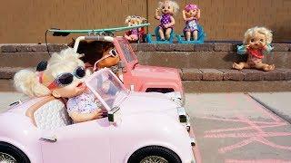 BABY ALIVE Pumpkin & Audrey Race Cars!