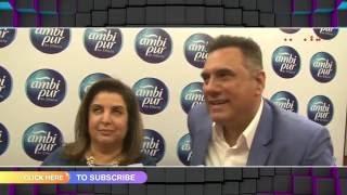 Boman Irani & Farah Khan gets candid | MTunes HD