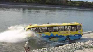 River Ride Amphibious bus in Budapest