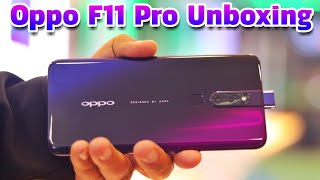 Oppo F11 Pro Unboxing & First Look - Thunder Black Color