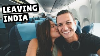 MUMBAI TO BANGKOK | Our Last Day in India | Jet Airways