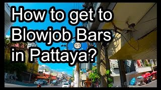 Pattaya - How to get to BJ Bars (Pump Station 1 & 2, Kittens Bar) [2K Quality]
