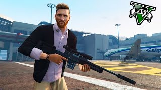 GTA V PC MODS - MESSI ES UN ASESINO EN GTA ! - RANDOM MODS - ElChurches