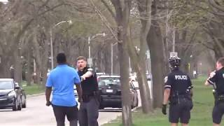Man Fights Police Officers On Milwaukee's Northside 5/2/2018