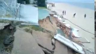 El temporal causa estragos en El Portil / Juan José López