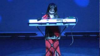 FMGCS Talent Show 2012 - Piano By Brinda Tailor (Mere Mehboob Qayamat Hogi song)