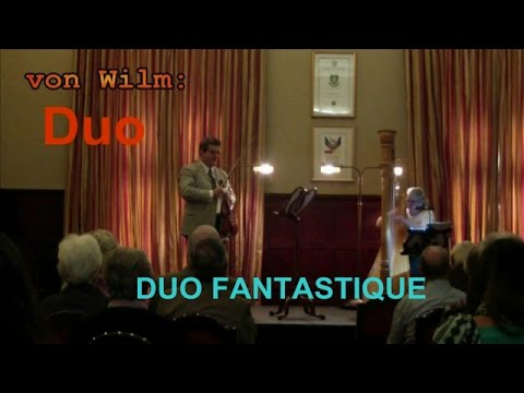Duo by von Wilm for Violin and Harp