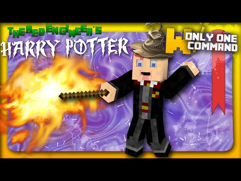Minecraft - Harry Potter spells & magic weapons with only one command block