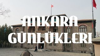 VLOG: Ankara | Tarihi Roma Hamamı | Part 2 #ANKARAgünlükleri
