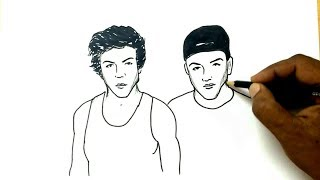 How to Draw the Dolan Twins
