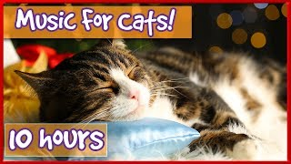 Pet Therapy Music : Cat Music with Nature Sounds, Purring, Bird Noises To Relax and Calm Kittens