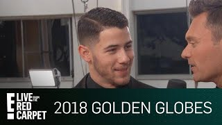 """Nick Jonas """"Shocked"""" by 2018 Golden Globe Nomination 