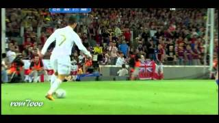 HAYDER AL  KOSOFE TO    what c ronaldo did do with barcelona hd 2012